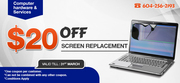 Laptop screen replacement Delta