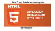 Html5 Application Development company