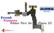 Receiver Mic Flex Cable with Front Camera Ribbon Part for iPhone 5S
